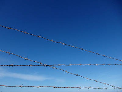 Photograph - Forbidden Sky - Iron Barrier by Robert Schaelike