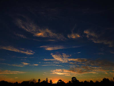 Photograph - Forboding Sunset by Mark Blauhoefer
