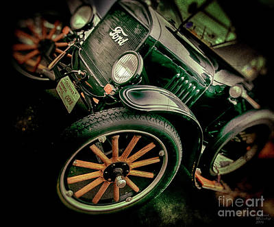 Photograph - Ford 001 Large Canvas Art, Canvas Print, Large Art, Large Wall Decor, Home Decor, Photograph by David Millenheft
