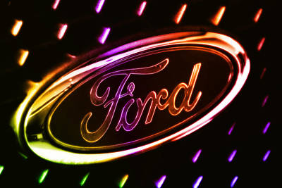 Photograph - Ford 01 by Kevin Chippindall