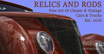 Photograph - Ford 15-relics And Rods by Wendy Wilton