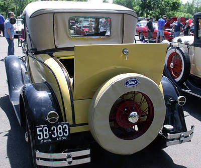 Photograph - Ford 1930 Rumble Seat by Gerald Mitchell