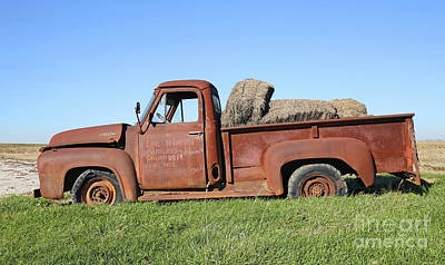 Daviess County Photograph - Ford 250 Pick Up by Steve Gass