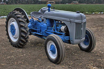 Photograph - Ford 2n Tractor by Michael Gordon