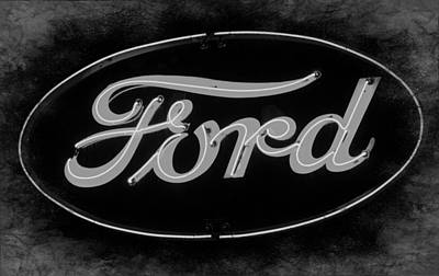 Photograph - Ford 3  by Susan  McMenamin