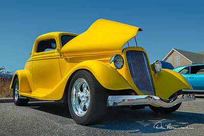 Photograph - Ford 3 Window Coupe 0523 by Dan Beauvais