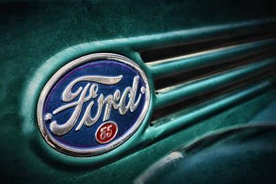 Photograph - Ford 85 by Caitlyn Grasso