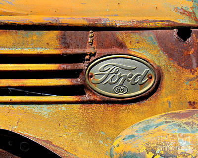 Chrome Grill Photograph - Ford 85 by Perry Webster