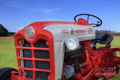 Digital Art - Ford 851 Powermaster by Lori Deiter