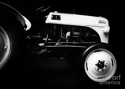 Tractor Photograph - Ford 8n by Patrick M Lynch