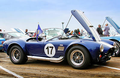 Photograph - Ford Ac Cobra 17 by Gene Parks