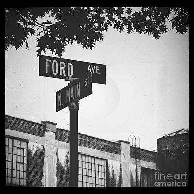 Photograph - Ford And Main by Colleen Kammerer