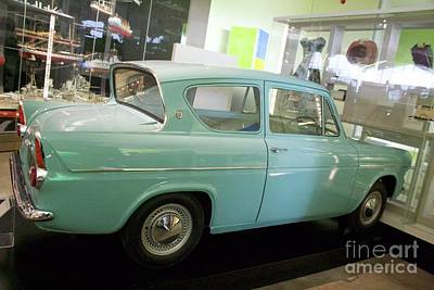 Photograph - Ford Anglia 105e by David Grant