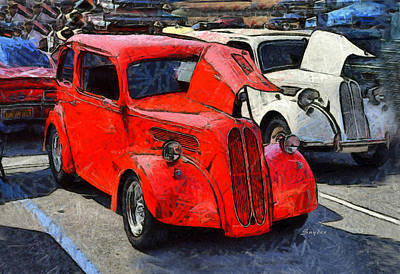 Photograph - Ford Anglia Vintage Car by Floyd Snyder