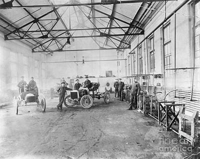 Photograph - Ford Auto Factory by Granger