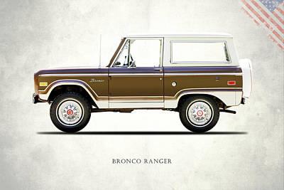 Ford Bronco Ranger 1976 Art Print