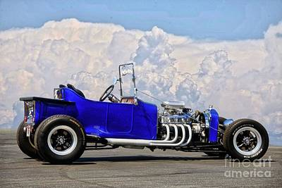 Target Threshold Nature - Ford Bucket T Roadster Pickup by Dave Koontz