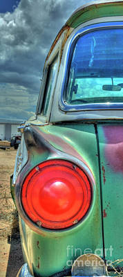 Photograph - Ford County Squire Wagon by Tony Baca