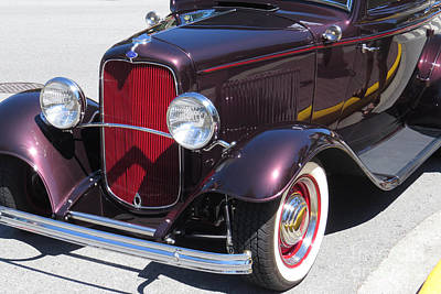 Photograph - Ford Coupe by Frank Townsley