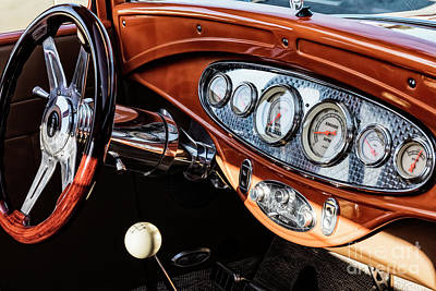 Photograph - Ford Coupe IIi by Brad Allen Fine Art