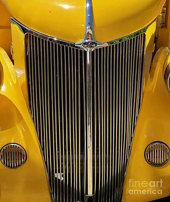 Photograph - Ford Coupe Close Up  by Susan Garren