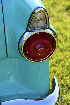 Photograph - Ford Customline Tail Light by Mike Martin