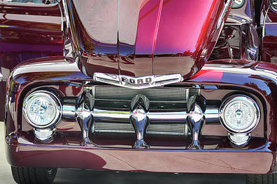 Photograph - Ford Detail by Bill Dutting