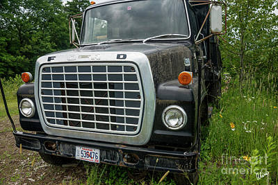 Photograph - Ford Dump Truck by Alana Ranney