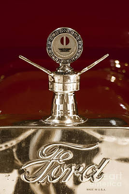 Photograph - Ford Emblem by Long Love Photography
