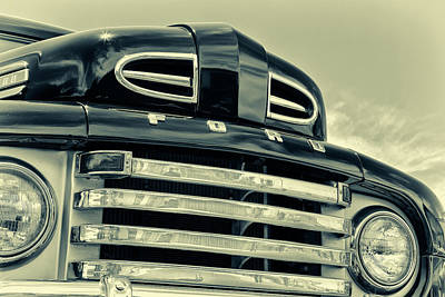Photograph - Ford F-1 by Caitlyn Grasso