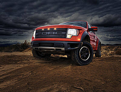 Ford F 150 Raptor  Art Print