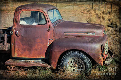 Photograph - Ford F-3 by Lynn Sprowl
