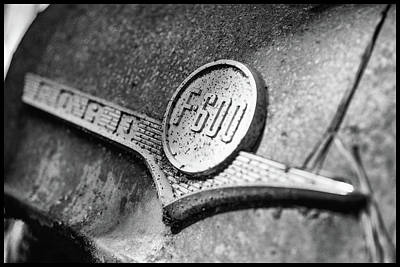 Photograph - Ford F-600 Emblem by Matthew Pace