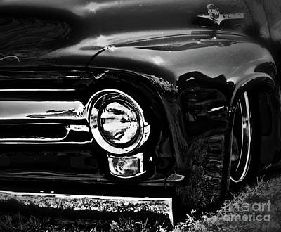 Photograph - Ford F100 by Nancy Chambers