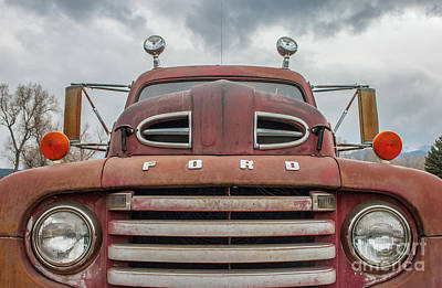 Photograph - Ford F5 by Tony Baca