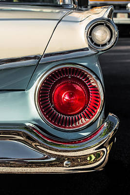 Car Photograph - Ford Fairlane 500 by Lauri Novak