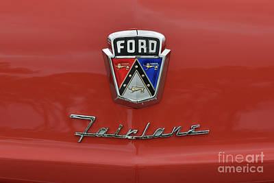 Photograph - Ford Fairlane Classic Car by Olga Hamilton