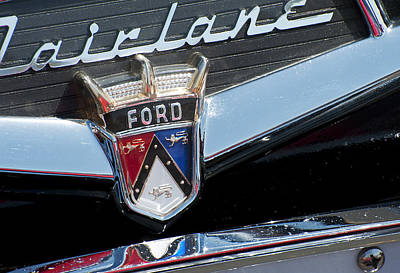 Photograph - Ford Fairlane by Doug Davidson