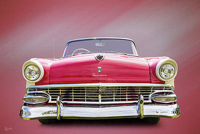 Photograph - Ford Fairlane by Keith Hawley