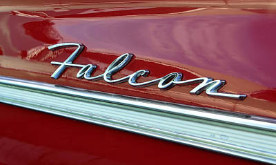 Car Names Photograph - Ford Falcon by David Lee Thompson