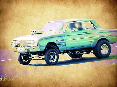 Ford Falcon Gasser Art Print by Steve McKinzie