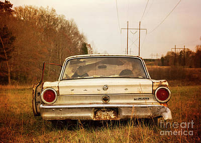 Photograph - Ford Falcon In The Field by Terry Rowe