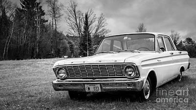Photograph - Ford Falcon Sedan by Edward Fielding
