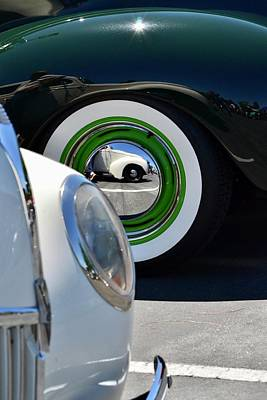 Photograph - Ford Fenders by Dean Ferreira