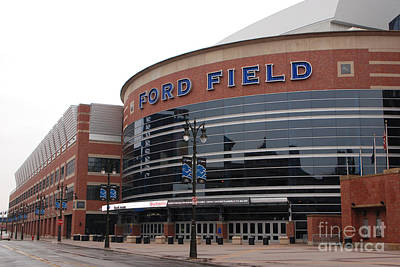 Ford Field Art Print