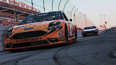 Photograph - Ford Fusion - Daytona International Speedway - 2 by Andrea Mazzocchetti