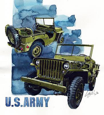 Ford Gpw Art Print