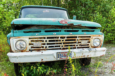 Photograph - Ford Grill by Alana Ranney
