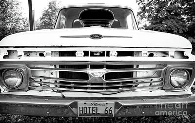 Photograph - Ford Grill On Route 66 by John Rizzuto