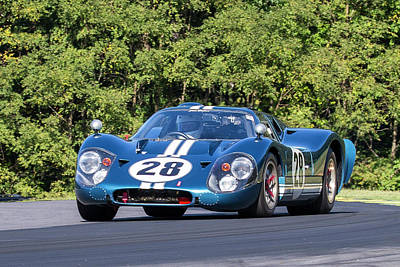 Photograph - Ford Gt #28  by Alan Raasch